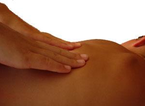 Masaje de fisioterapeuta
