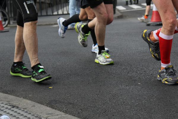 Osteópata y runners en Madrid Rio