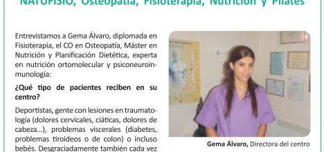 "Natufisio y la osteopatía en ""La Razón"""
